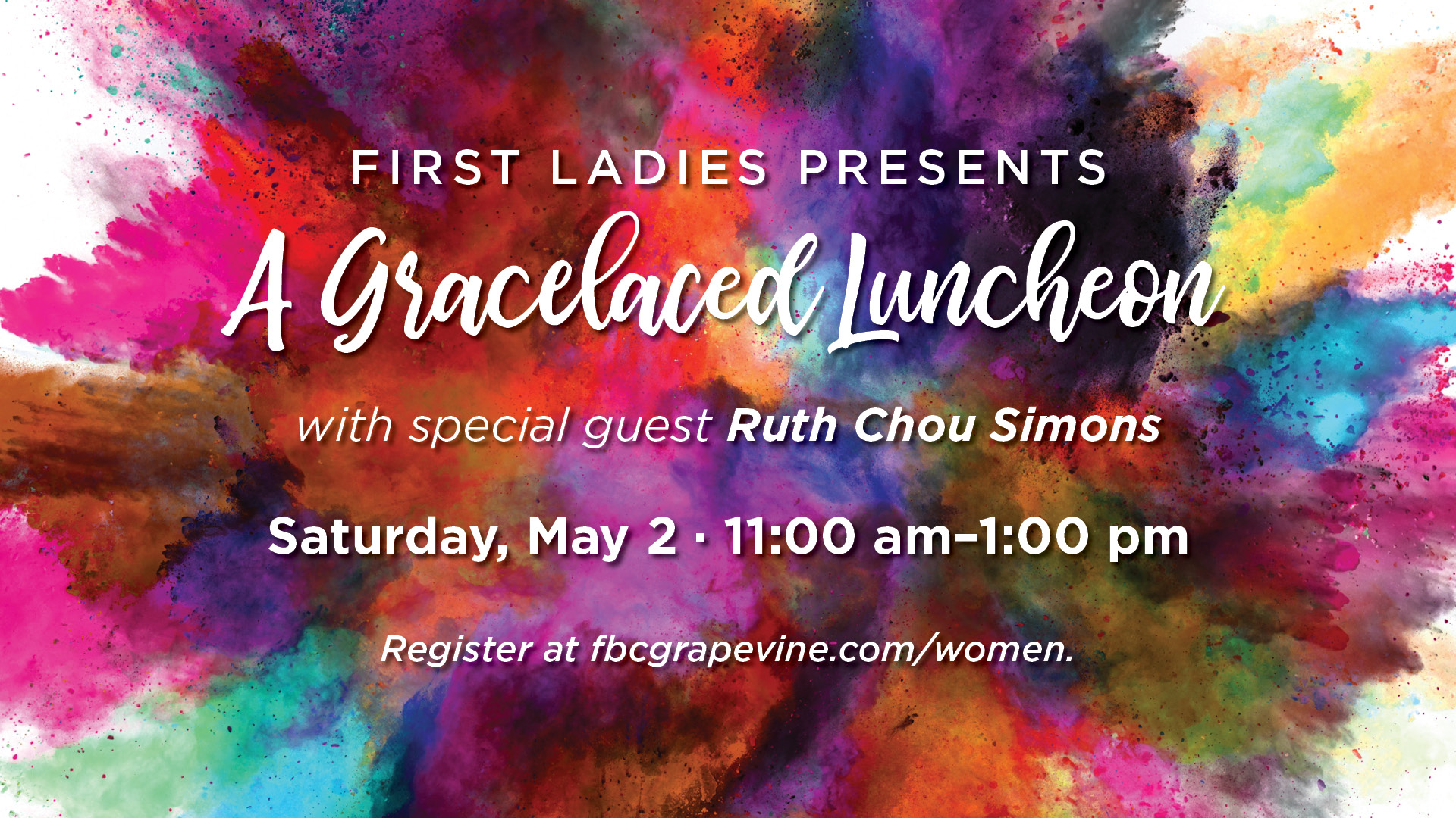 202002 First Ladies Gracelaced Luncheon Promo Video Graphic 1920x1080