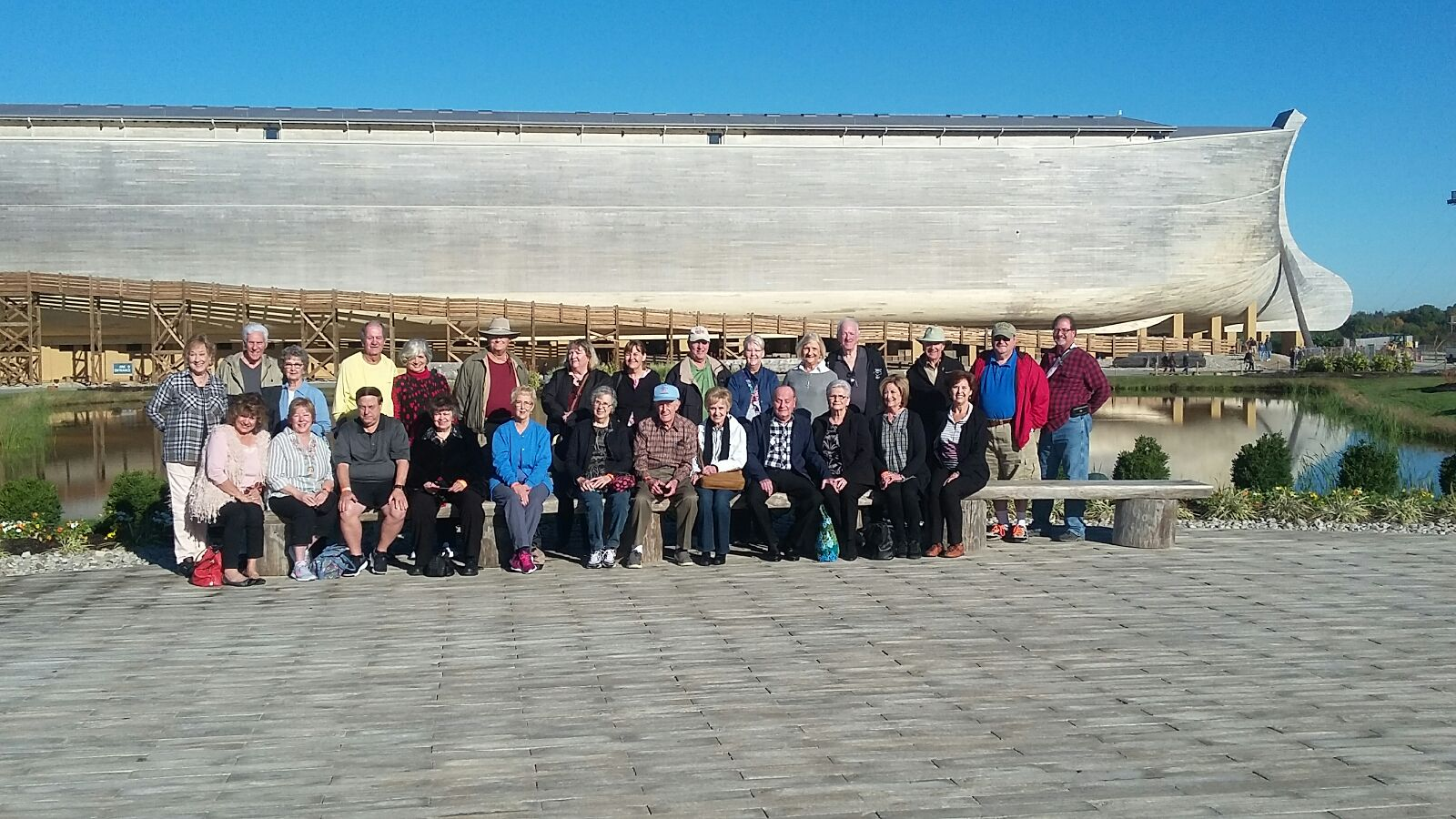 group at Ark 1