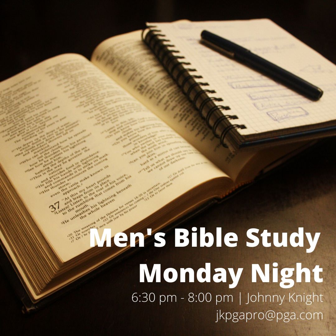 Men's Monday Night Bible Study