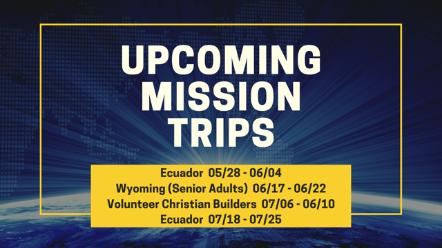 Missions 2020