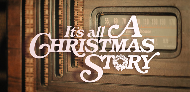 The Season of Advent: It's All A Christmas Story banner