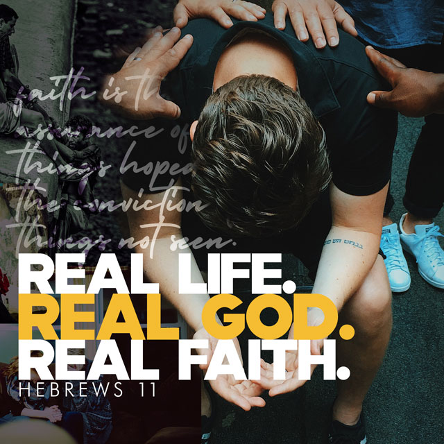 Real Life. Real God. Real Faith. banner