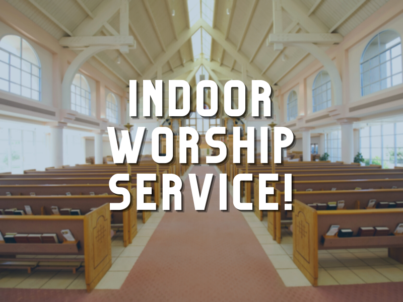 Indoor Worship Service Web