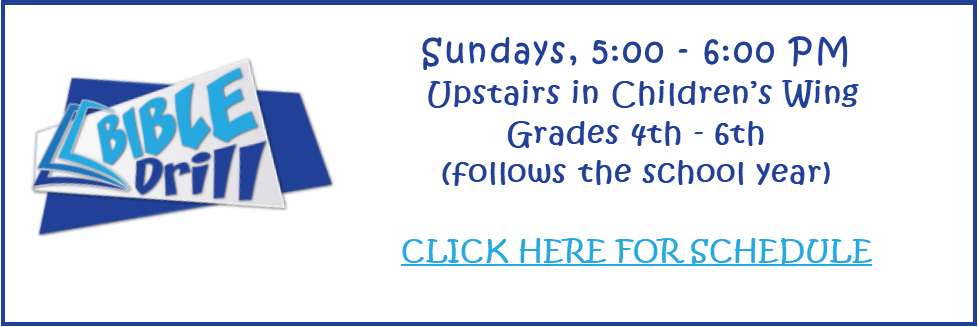 Bible Drill website page