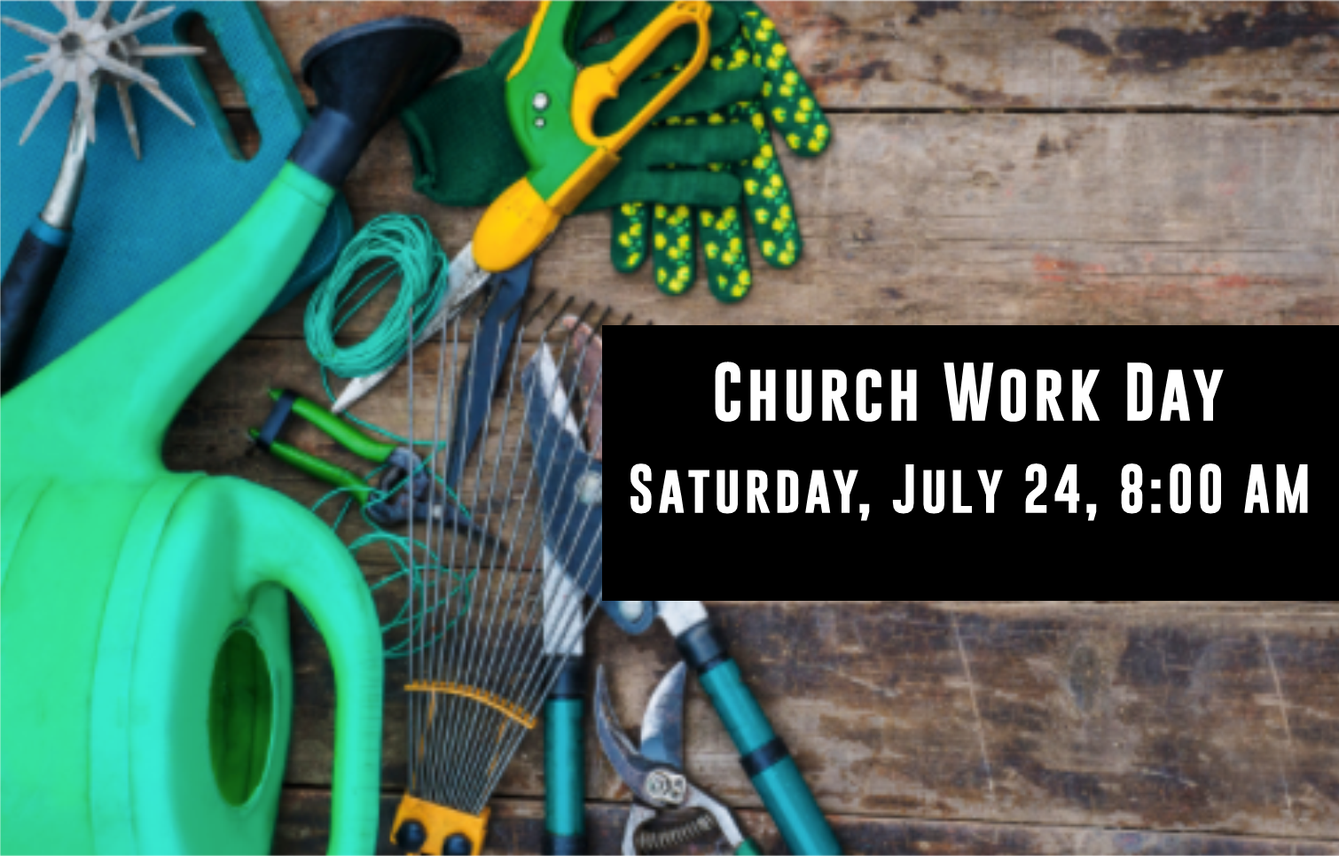 church workday july 2021