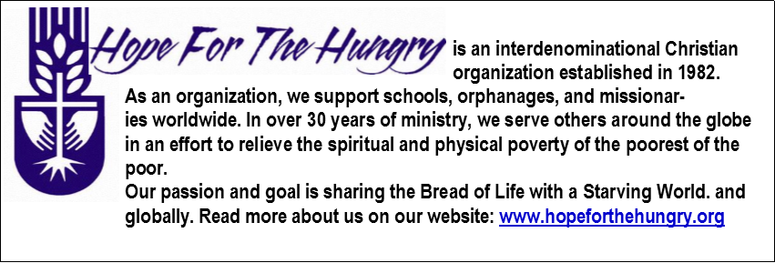 hope for the hungry website
