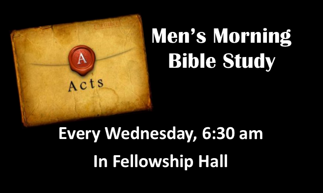 mens wednesday bible study 2018