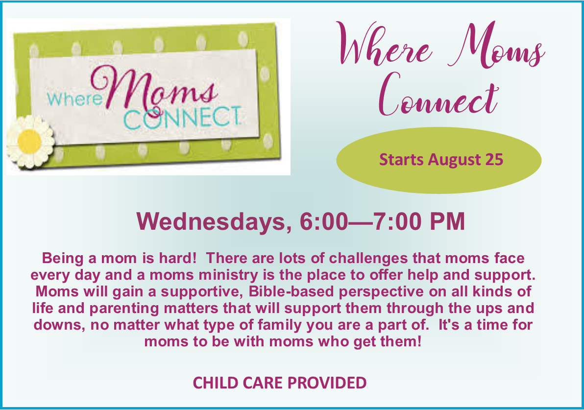 Moms Connect 2021 womens page