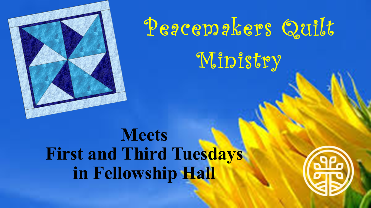 Peacemakers Quilt Ministry for Womens Page