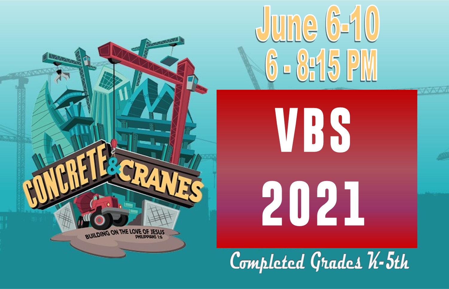 VBS 2021 Page Date Time