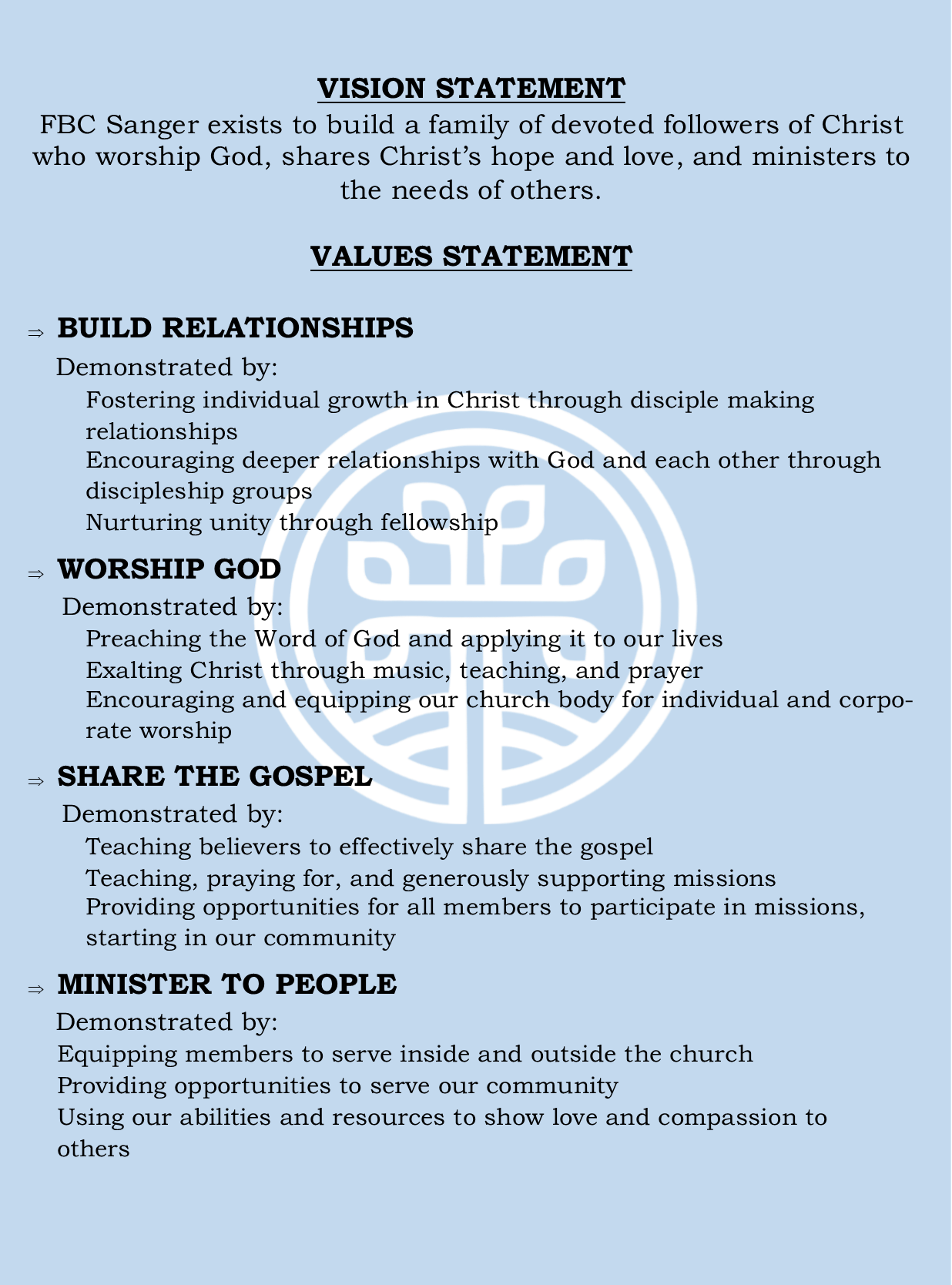 Vision Statement Page test 2