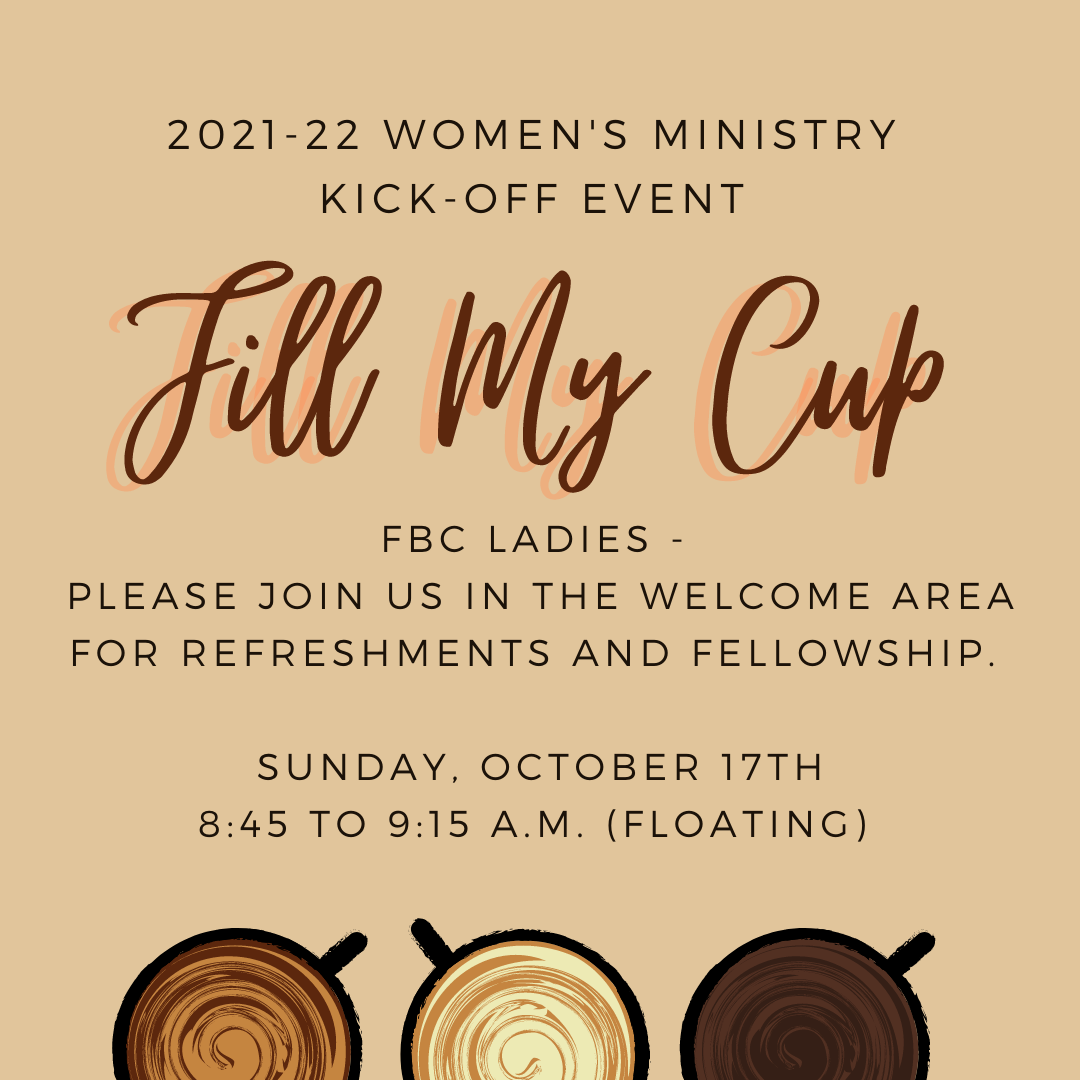 Fill My Cup 2021