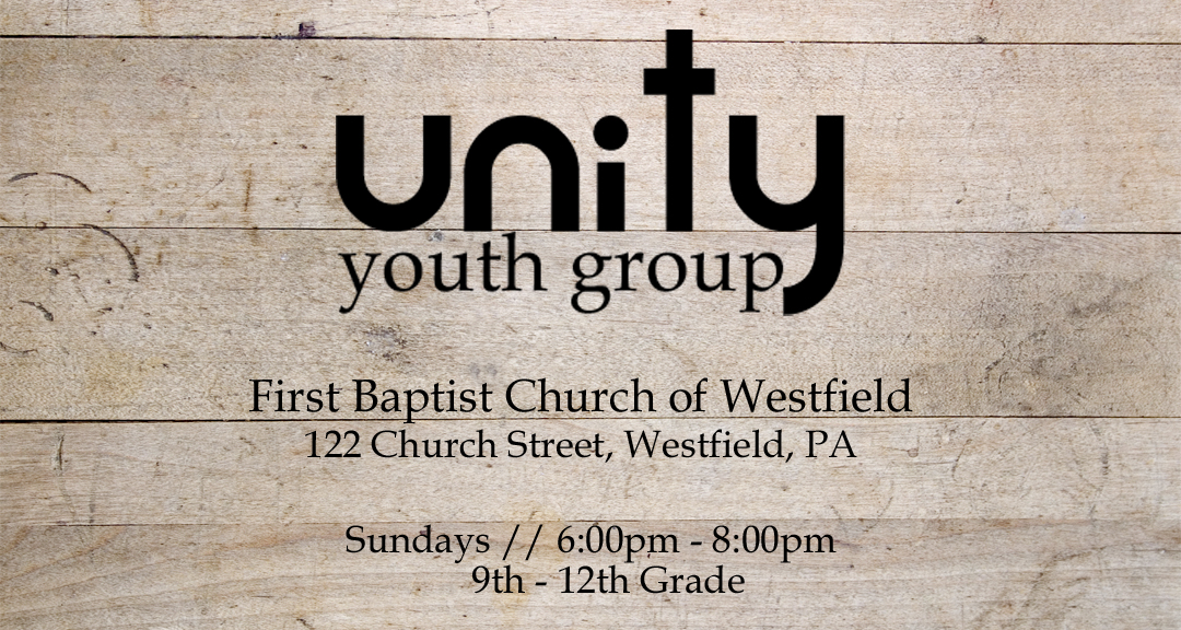 Unity Youth Group banner