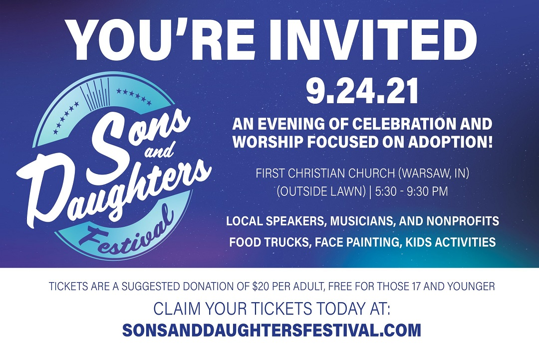 Sons and Daughters Festival slide
