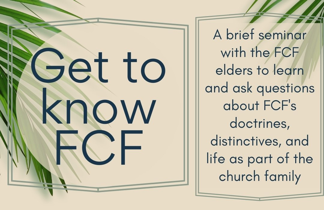 Intro to FCF summer