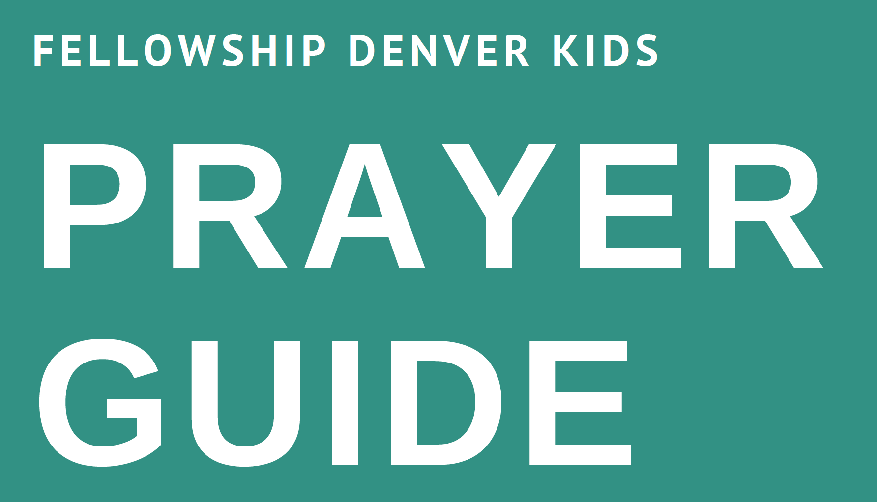 FDK Prayer Guide img