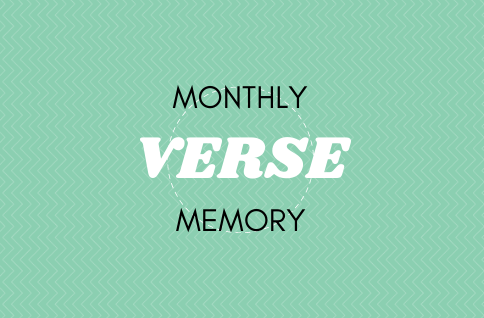 Monthly Memory Verse!(1)