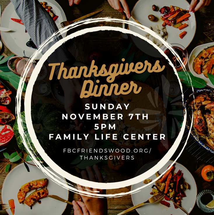 Thanksgivers Dinner 2021 SQUARE Re-sized for Web image