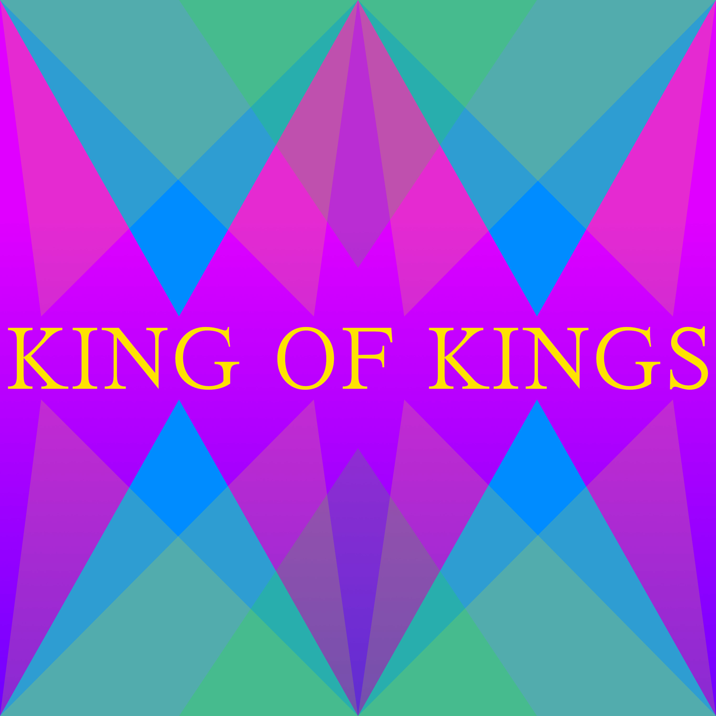 King of Kings Square Graphic