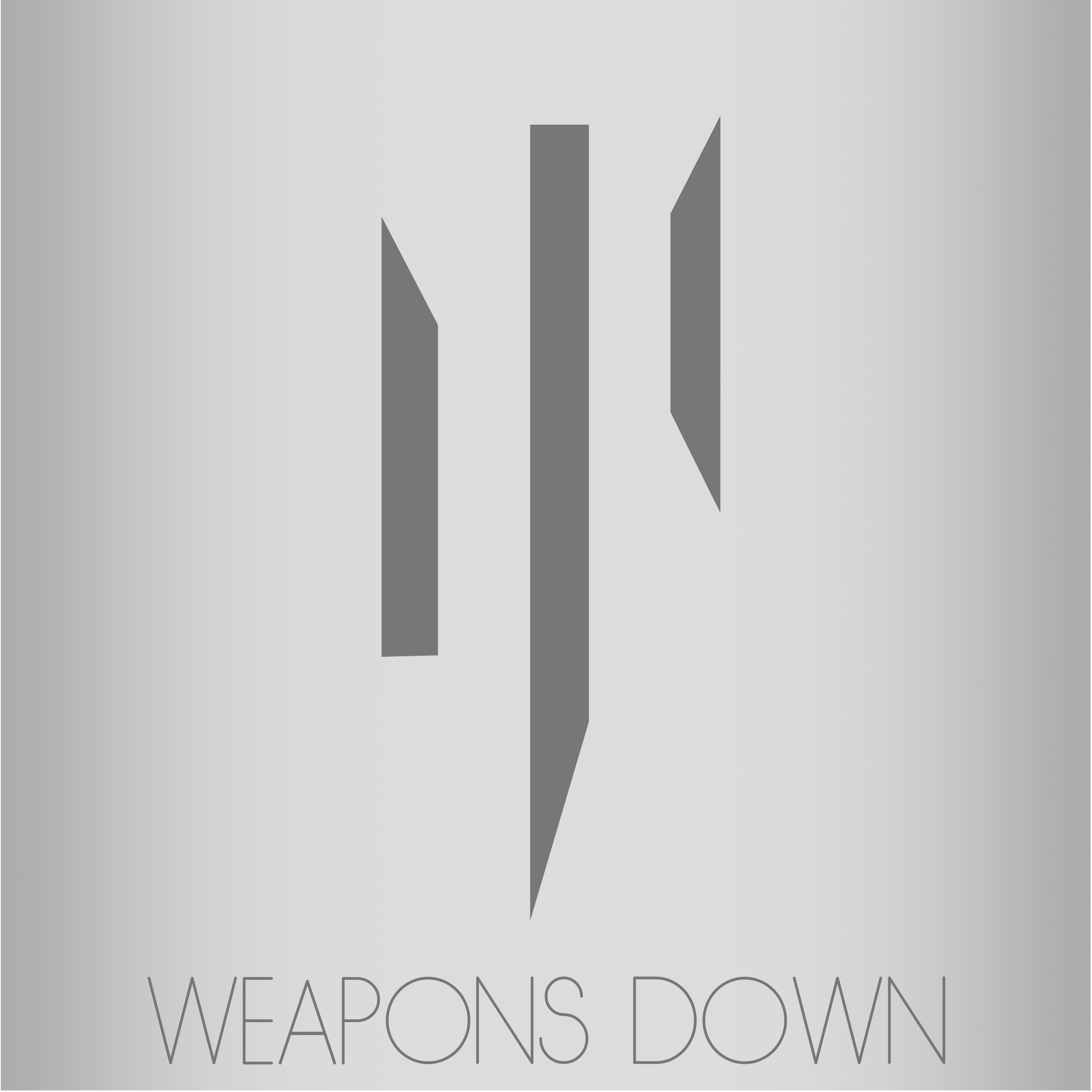 Weapons Down Graphic