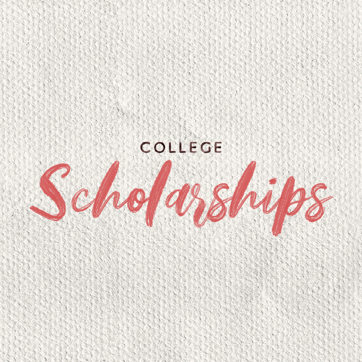 College Scholarships Square Image