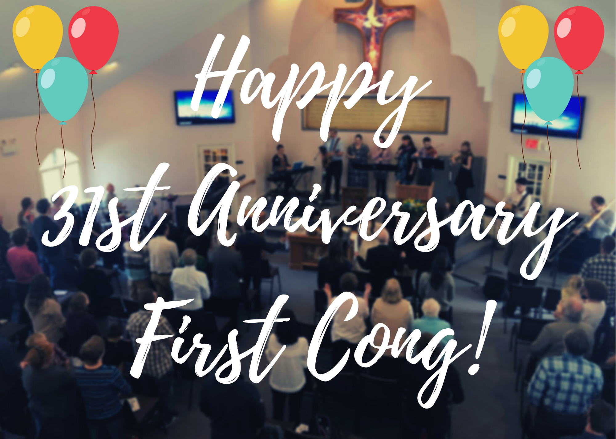 Happy 31st Anniversary First Cong!