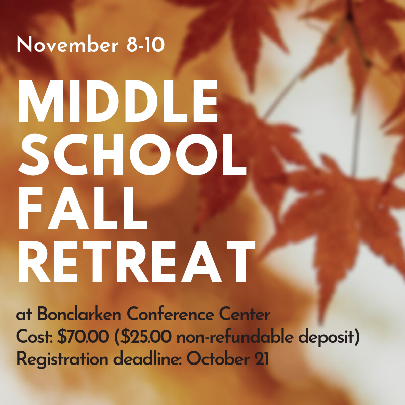 ms fall retreat 2019