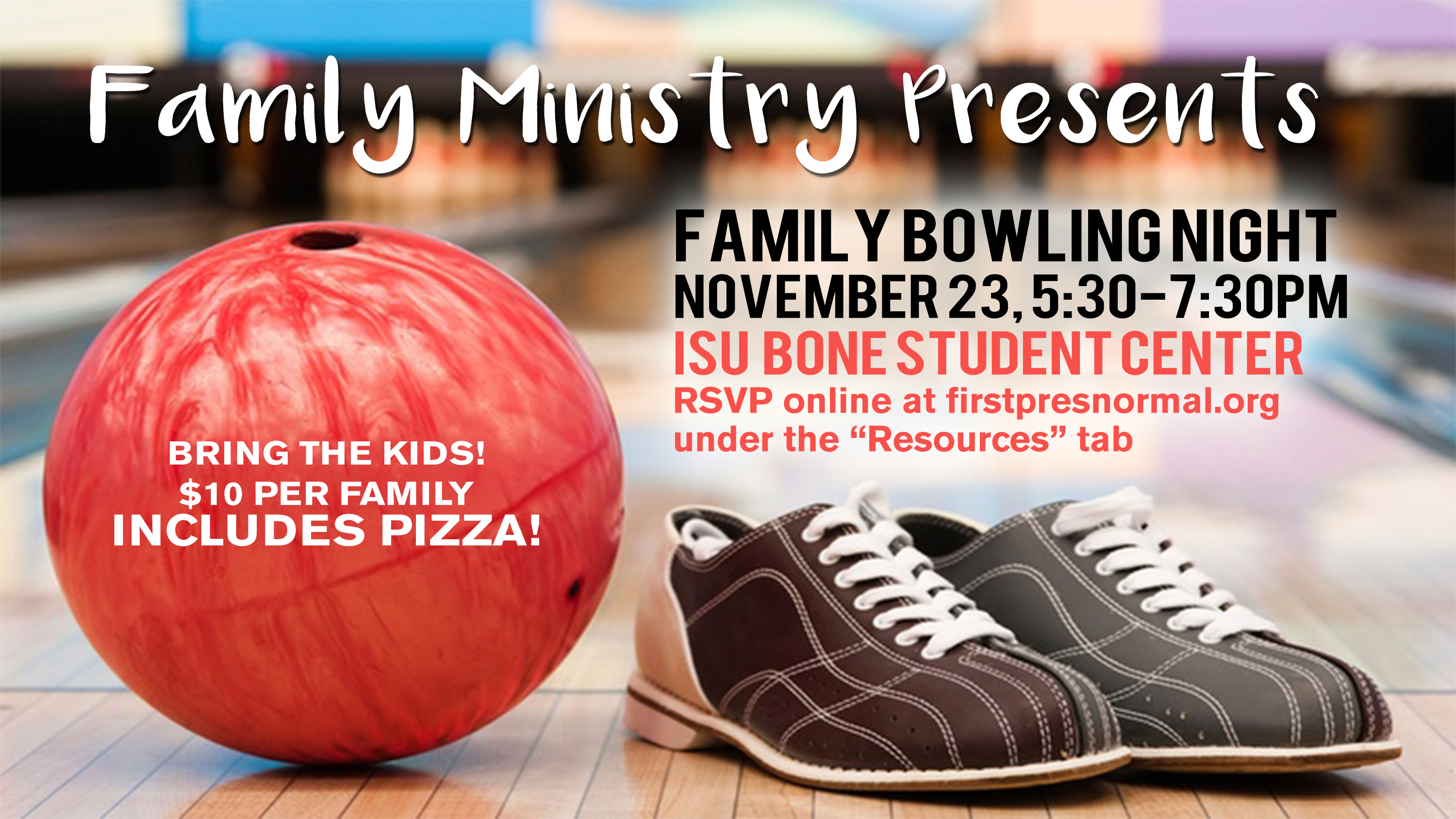 11 23 2019 Family Bowling Night