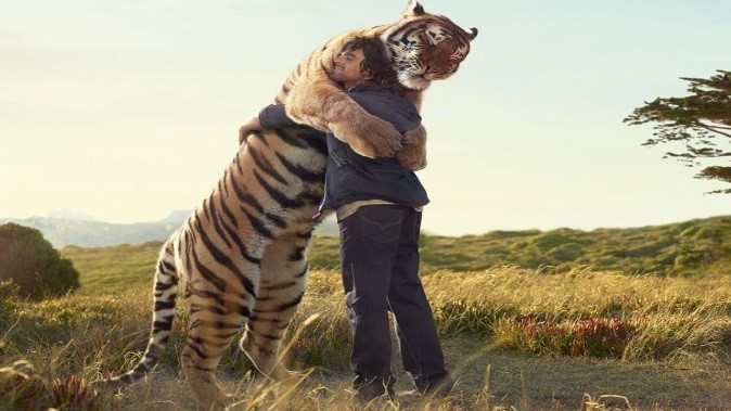 5 Tiger and guy