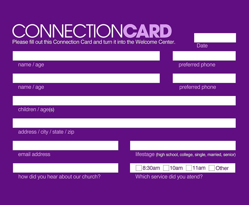 Quicklink_Connection Card