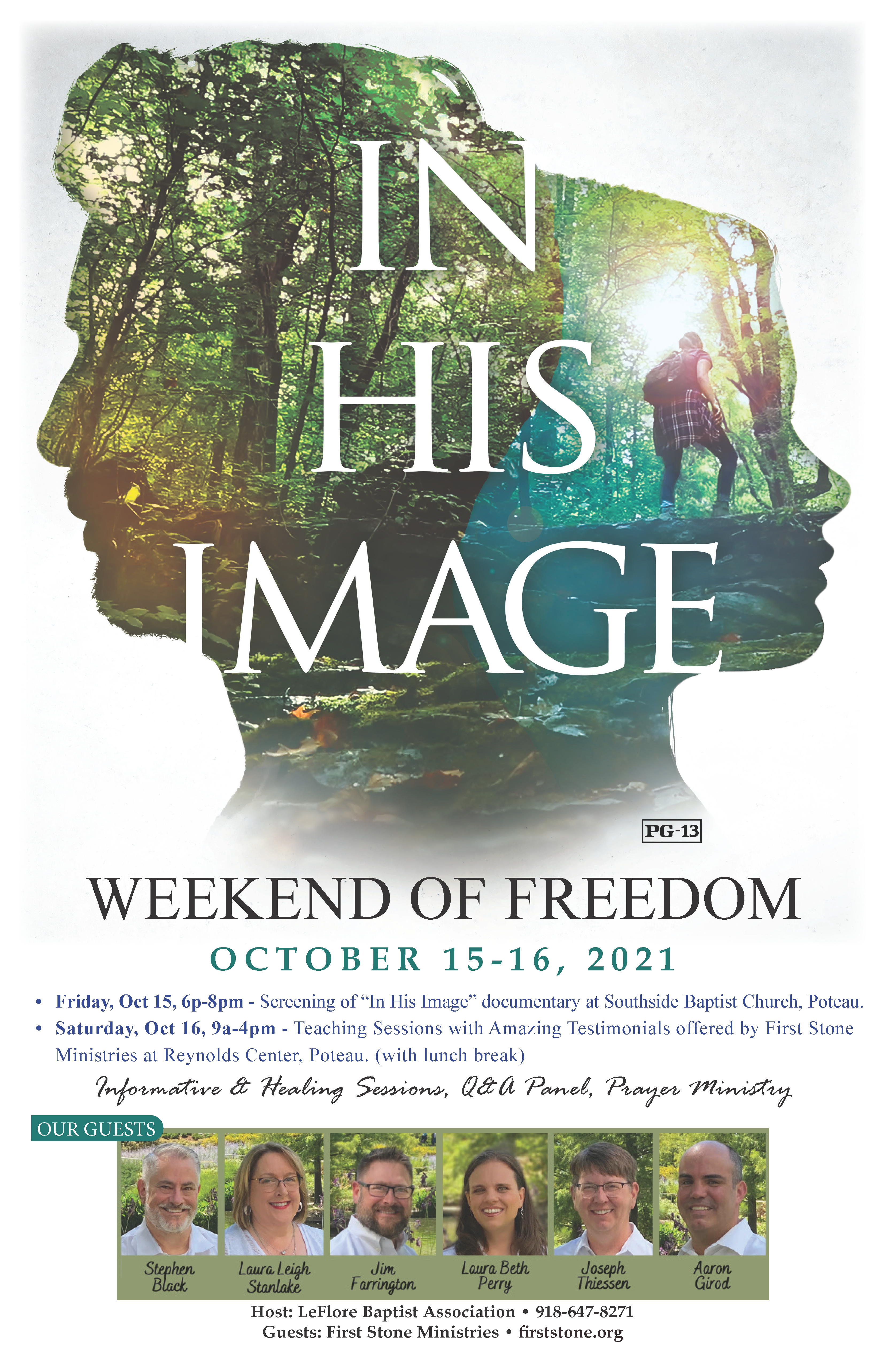 IHI Weekend of Freedom Poster