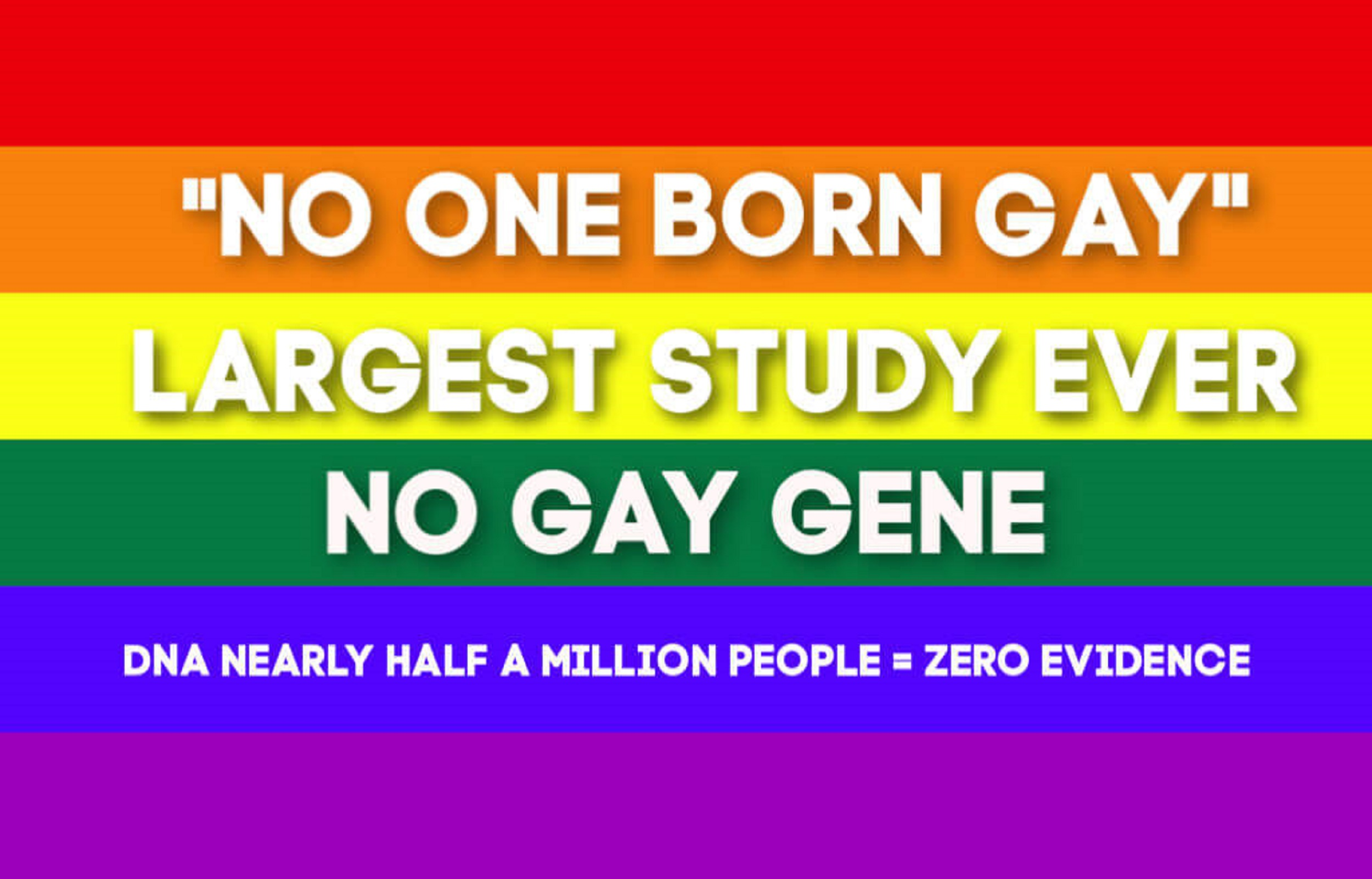 Image result for there is no gay gene