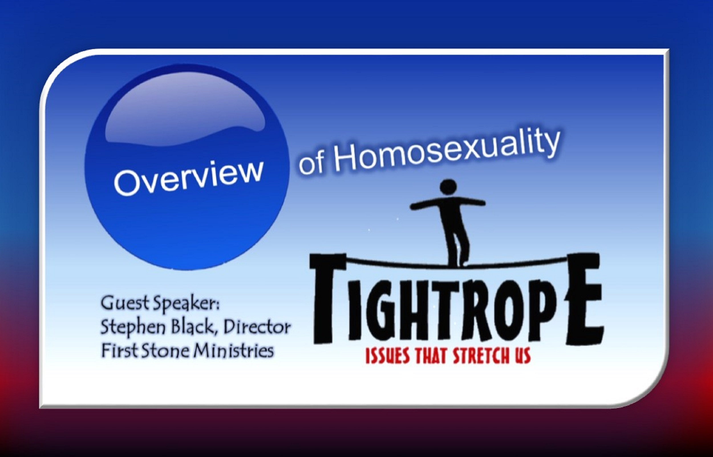 Overview of Homosexuality_Tightrope-Rotator