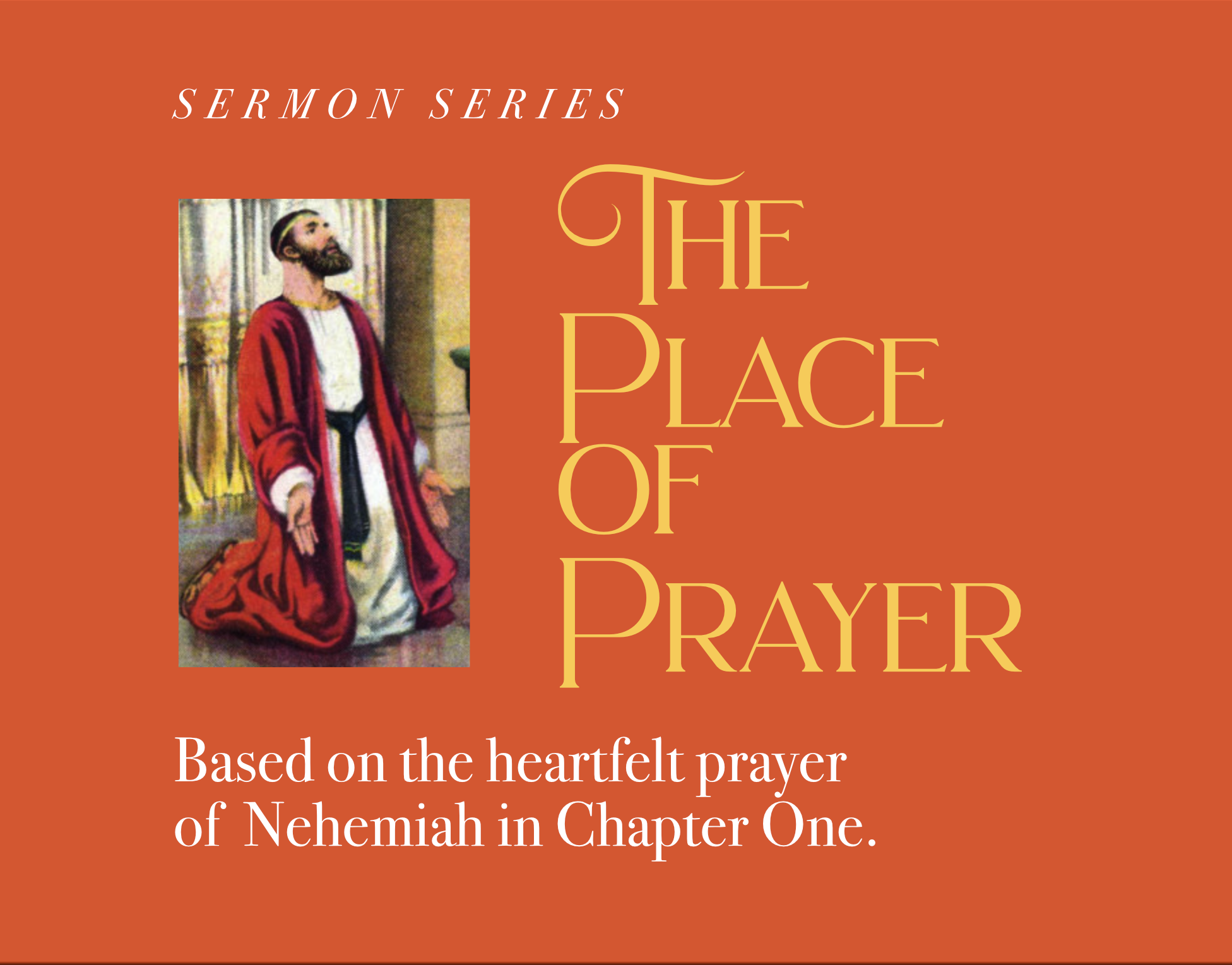 The Place of Prayer banner