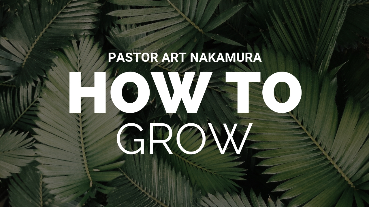 How to Grow banner