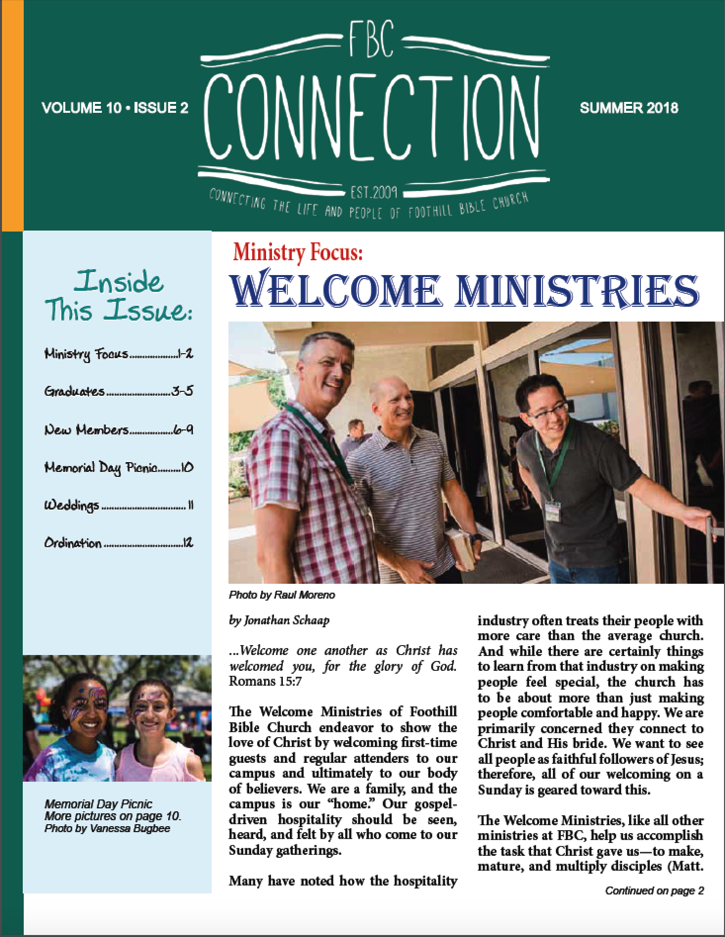 FBC Connection Summer 2018 p1