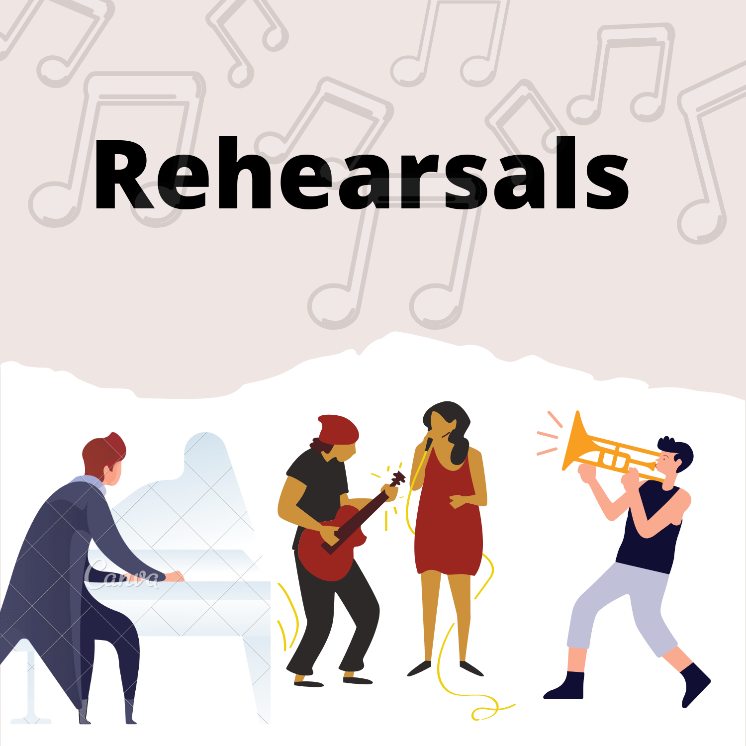 Rehearsals Icon image