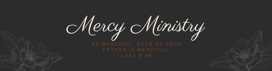Mercy Ministry banner