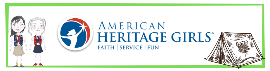 American Heritage Girls banner