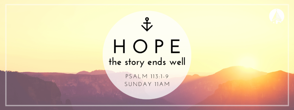 Hope: Your Story Ends Well banner