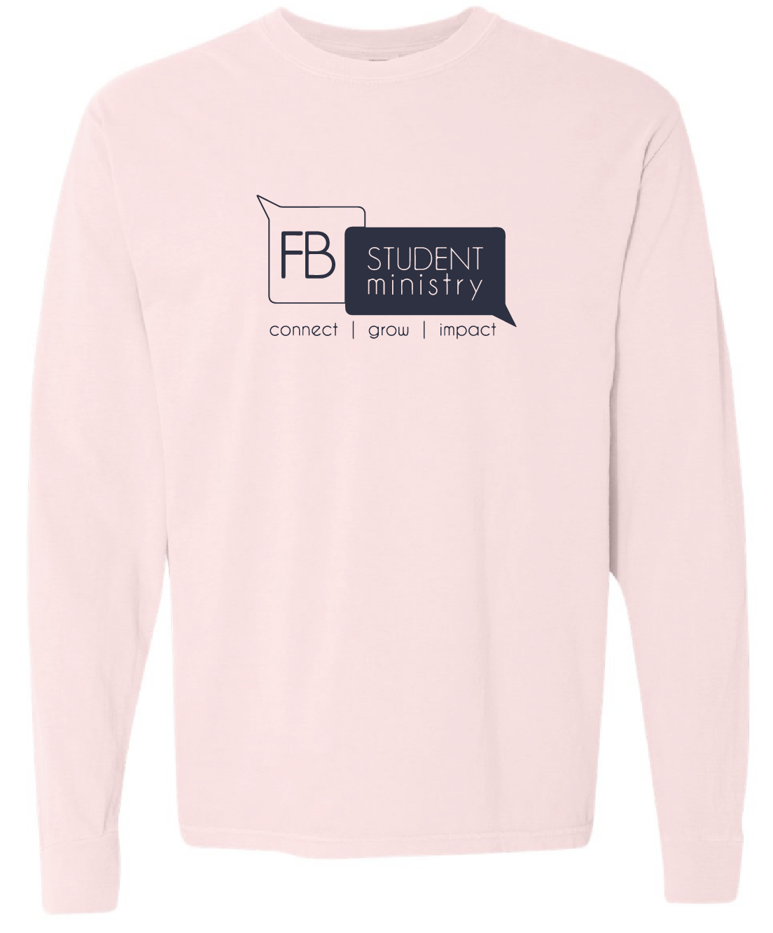Winter Retreat pink shirt