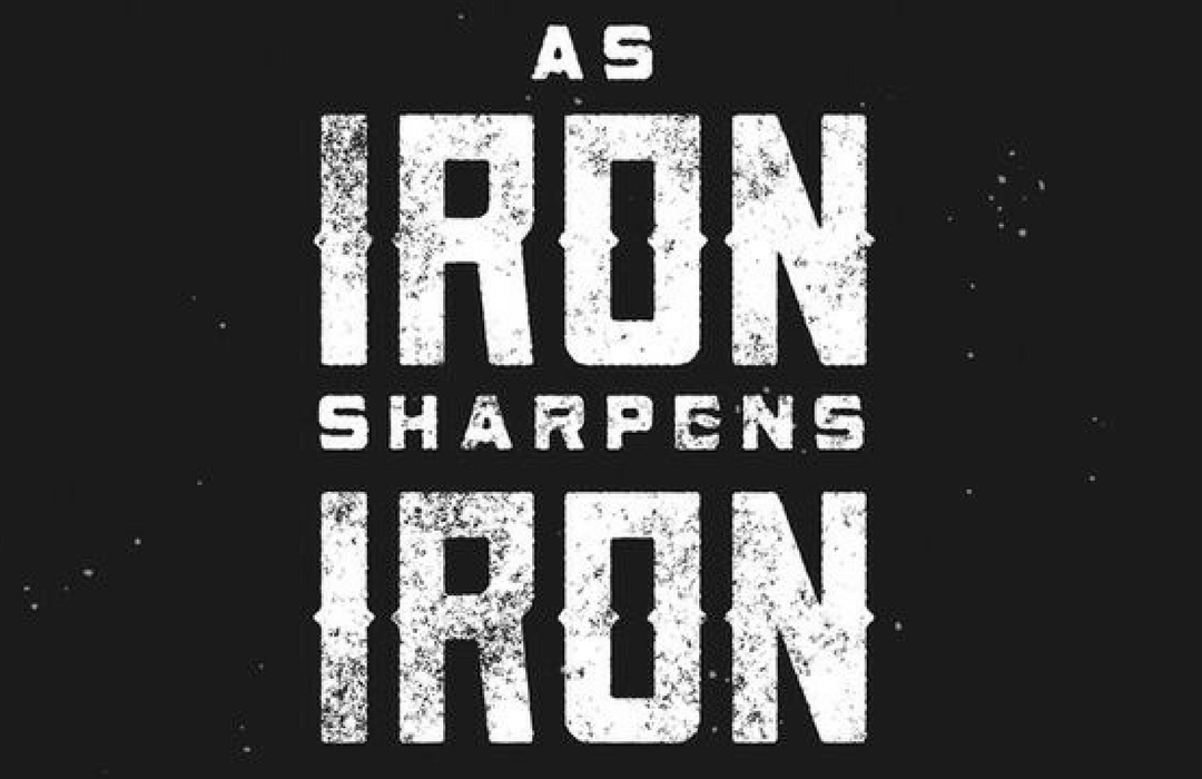 iron sharpens image