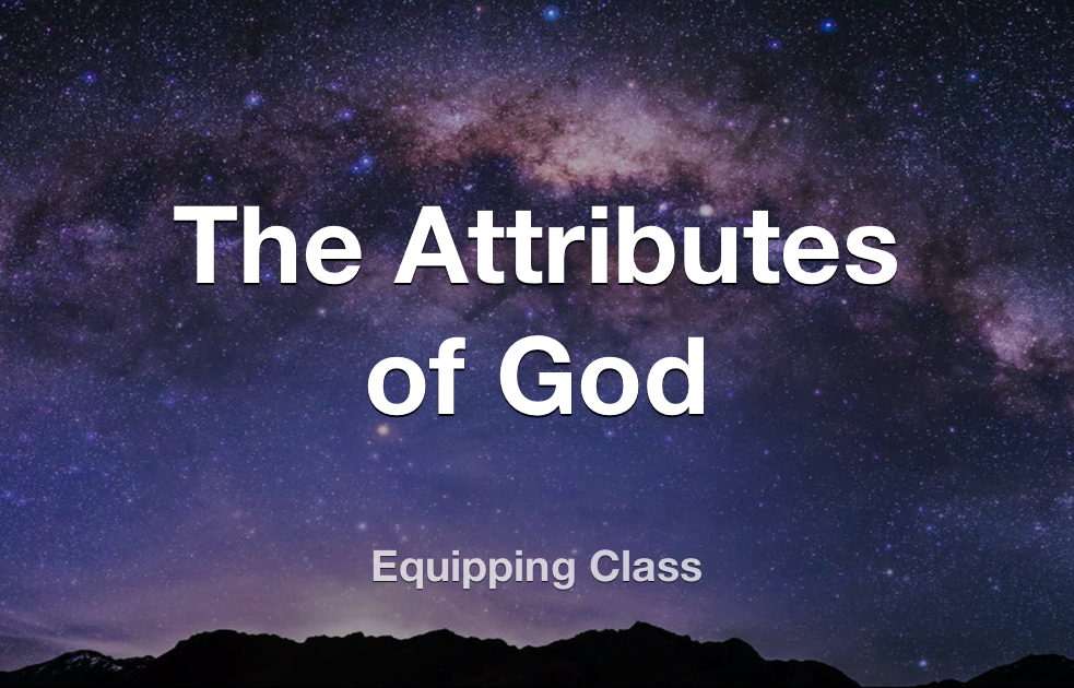 The Attributes of God banner