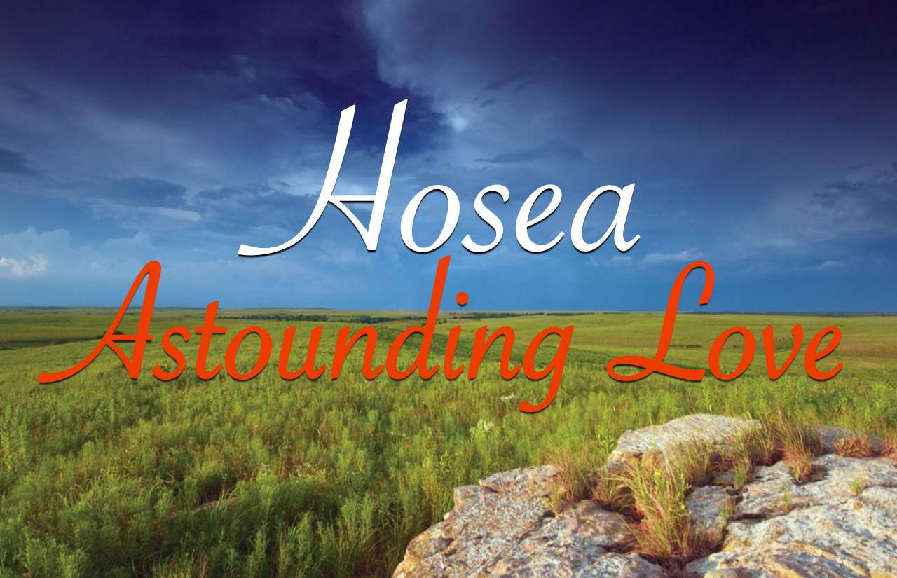 The Book of Hosea banner