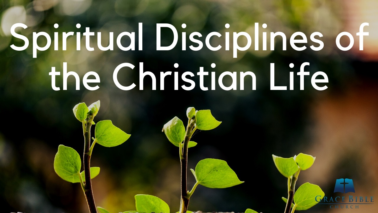 Spiritual Disciplines of the Christian Life banner