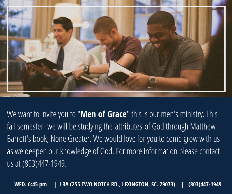 Men of Grace 2019