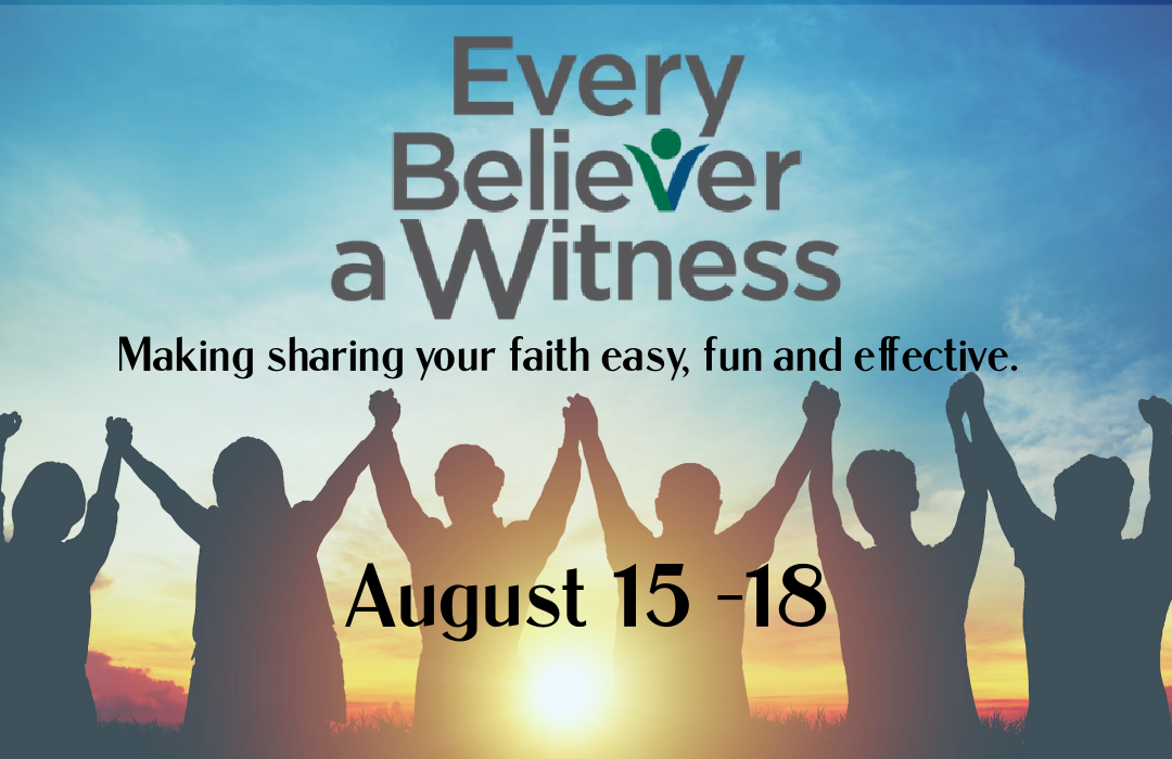 Every Believer A Witness Event Size image