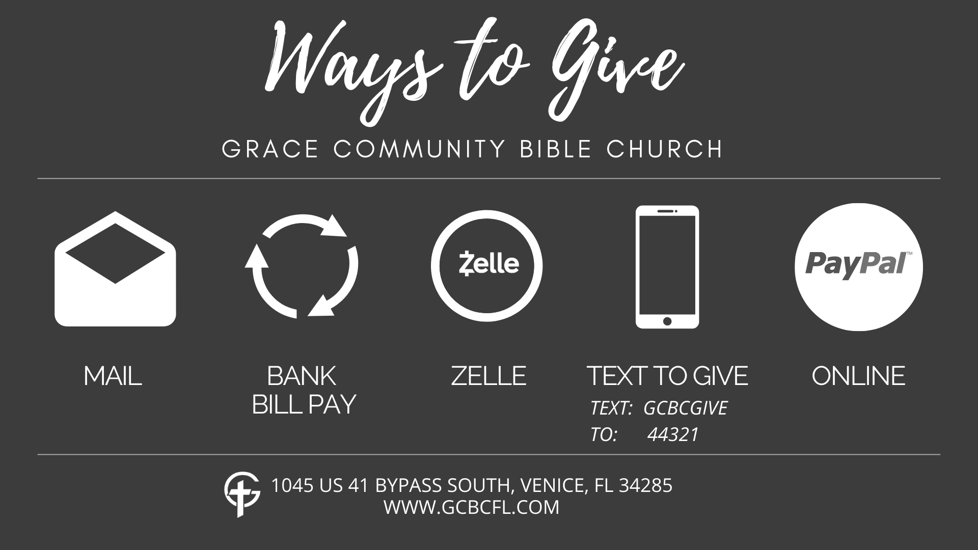 WAYS TO GIVE-14