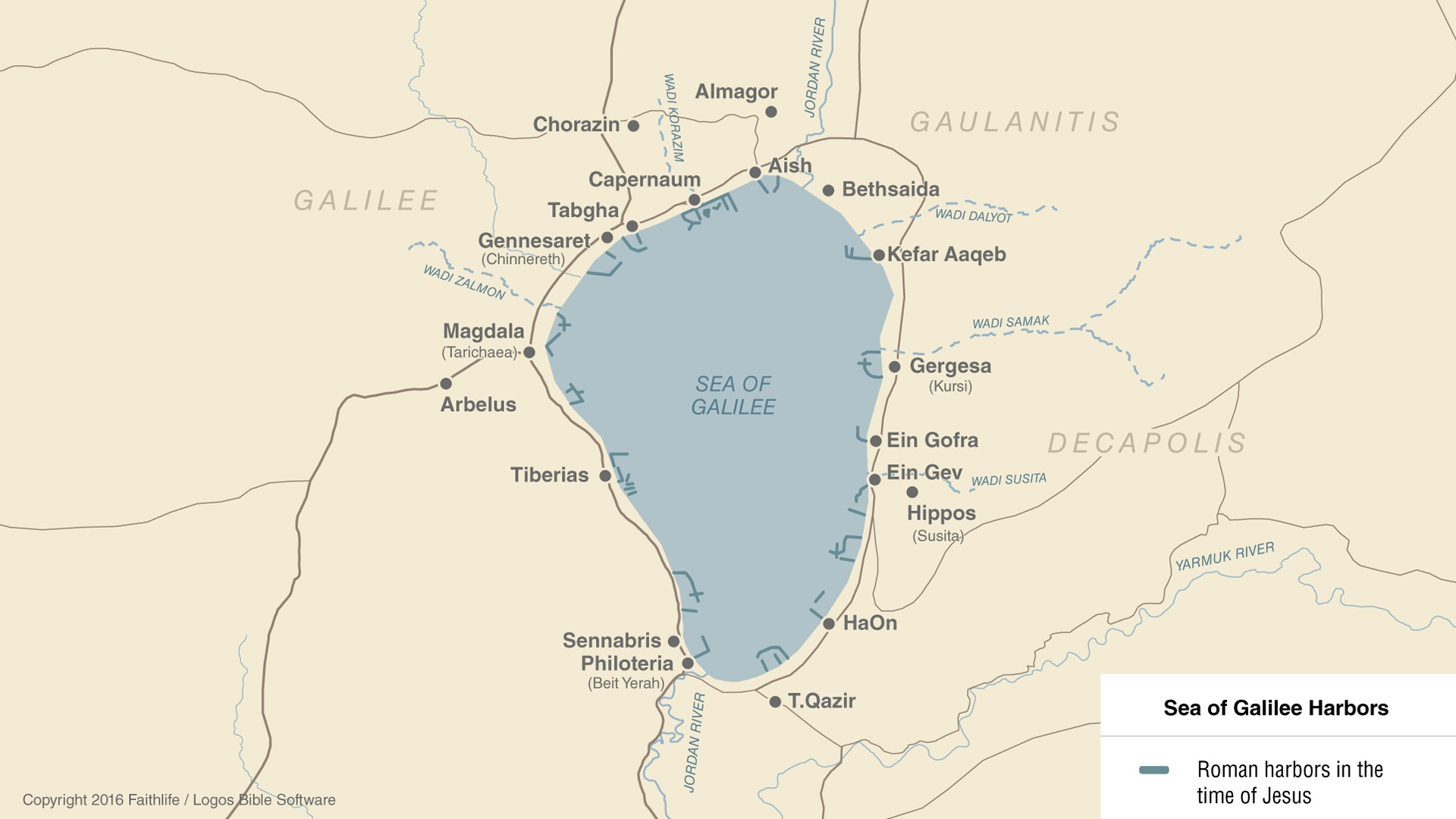 Ancient Harbors of the Sea of Galilee