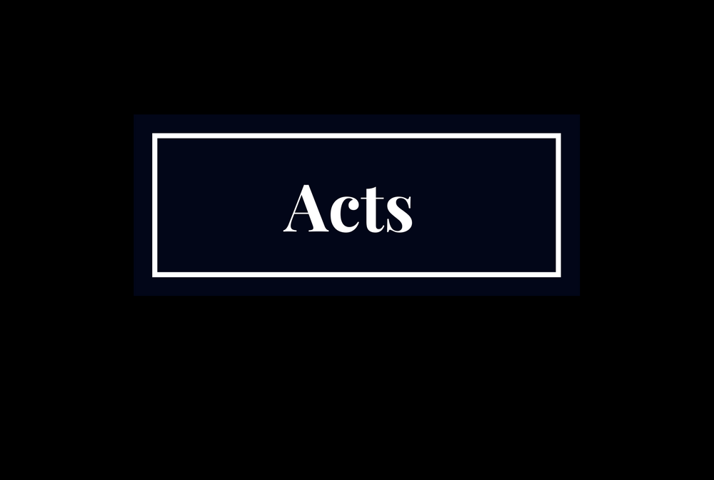 Acts of the Apostles banner